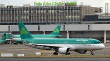 "Aer Lingus: ""We cannot accept liability for any items left on board our aircraft nor in any of our lounges."" Photograph: Paul Faith/AFP/Getty Images"