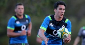 Joey Carbery is set to start at outhalf for Ireland in their first Test against Australia. Photo: Dan Sheridan/Inpho