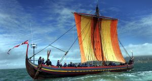 The Sea Stallion from Glendalough, a reconstructed Viking ship. File photograph: Eric Luke