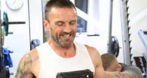 Bobby Messett (50) who was shot dead in Bray on Tuesday. Photograph: Taylor Made Boxing Gym Facebook page
