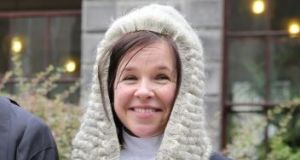 Criminal lawyer Tara Burns, currently counsel to the former Garda press officer Dave Taylor at the Disclosures Tribunal, has been nominated for appointment to the High Court.  Photograph: Collins Courts