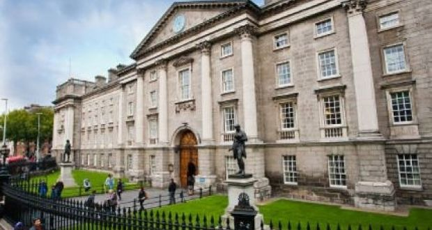 Trinity College Dublin has lost its status as Ireland's only top-100 university. File photograph: Getty Images