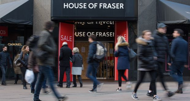 e3c47b3d8baa House of Fraser set to close 31 stores - but Dundrum to survive