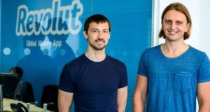 Revolut founders Vlad Yatsenko and Nikolay Storonsky.