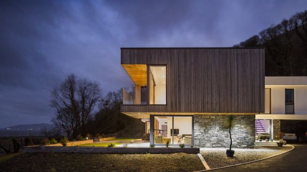 The house at Fahan designed by Shane Birney