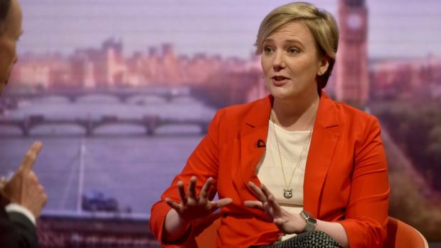 Pro-choice: the Labour backbencher Stella Creasy. Photograph: Jeff Overs/BBC/PA Wire