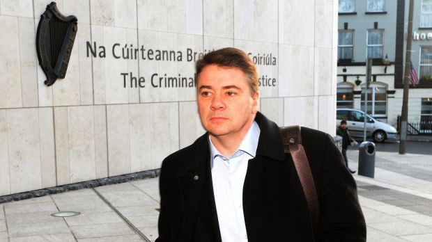 Pat Whelan, Anglo's one-time director of lending in Ireland, was sentenced to 240 hours of community service, over the provision of illegal loans. Photograph: David Sleator