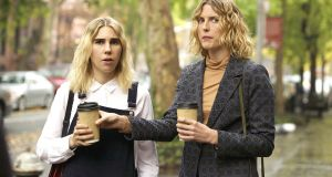 New this week: Zosia Mamet and Diana Irvine in The Boy Downstairs