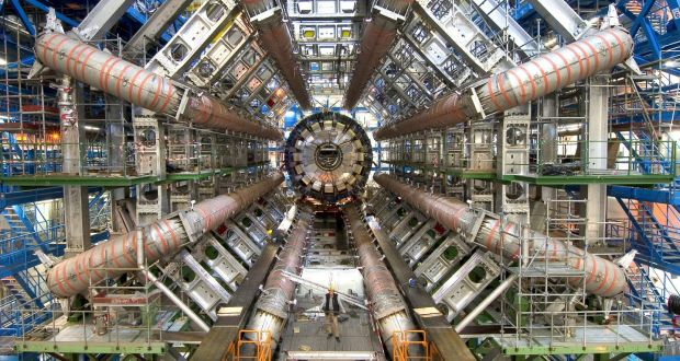 """Cern's Large Hadron Collider:  """"If Ireland is serious about being part of the international science community, then we ought to be part of Cern. We are increasingly isolated by not being a member,"""" says Fianna Fáil's James Lawless. Photograph: Cern/PA Wire"""
