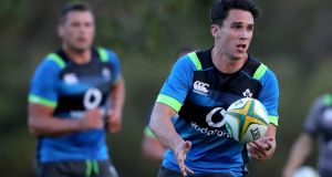 Joey Carbery will start at outhalf for Ireland against Australia in  Queensland. Photograph: Dan Sheridan/Inpho