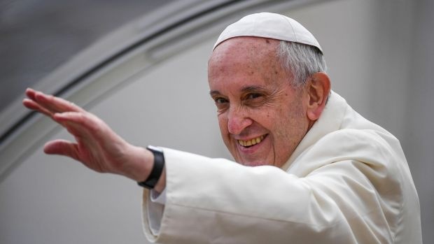 The Presbyterian Church in Ireland has agreed its moderator should meet Pope Francis during his two-day visit here in August. Photograph: Alessandro Di Meo/EPA