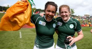 Former Ireland players Sophie Spence and Fiona Coghlan have spoken out about the IRFU's rejection of a women's Test series in Australia. Photo: Dan Sheridan/Inpho