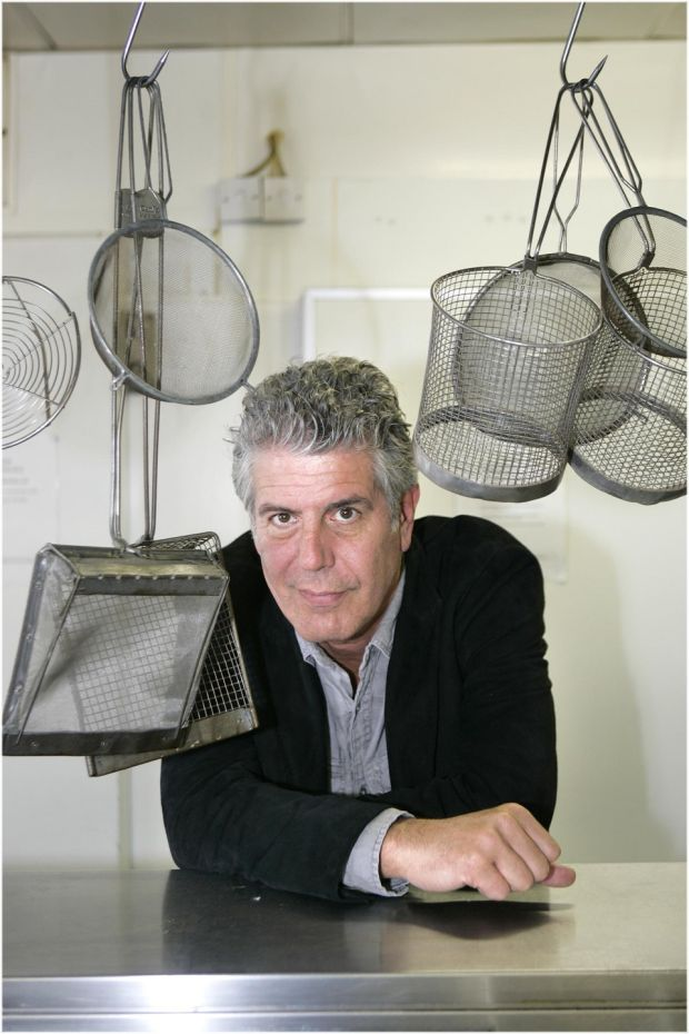 Anthony Bourdain in Dublin in 2010. Photograph: Dara Mac Dónaill