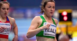 Phil Healy: the runner  would be the first to admit her title of Ireland's fastest woman may not last long. File photograph: Morgan Treacy/Inpho