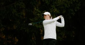 Leona Maguire opening her professional career with a round of 69 at the ShopRite LPGA Classic on the LPGA Tour. Photo: Getty Images