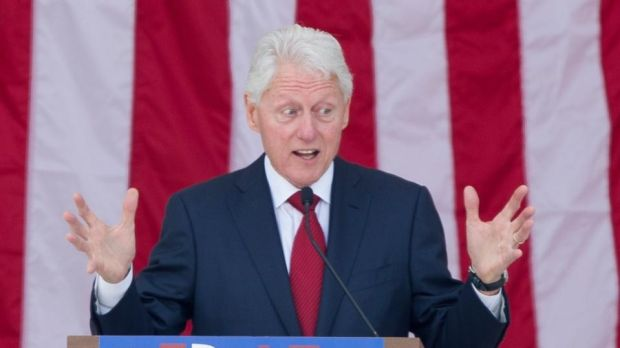 "Former US president Bill Clinton. ""The feminists lost their way performing as human shields, letting Clinton Inc demonise the willing and unwilling women in Bill's life and treat them as collateral damage."" Photograph: Michael Reynolds/EPA"