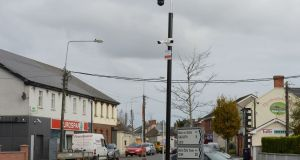 CCTV cameras in Duleek, Co Meath.  File photograph: Alan Betson