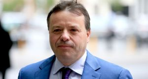 Arron Banks had undisclosed meetings with Russian embassy officials and held discussions about a business deal involving six Russian goldmines, it has been reported. Photograph: Jonathan Brady/PA Wire