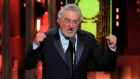 Robert De Niro gets standing ovation for 'F**k Trump' speech