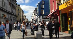 Oliver Plunkett Street in Cork, which won the Academy of Urbanism's Great Street award in 2015
