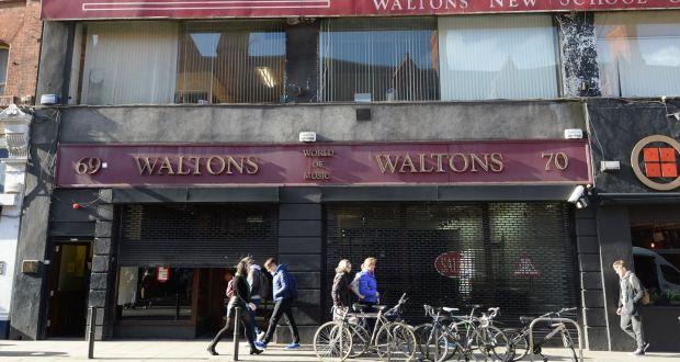 687203e8b6f1a The former Waltons music shop on South Great George's Street, Dublin.Photograph:  Dara