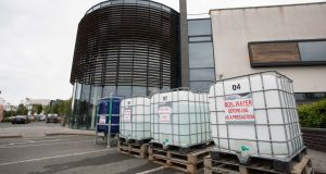 Waters tanks at Skerries Point Shopping Centre, Skerries, Co Dublin. Photograph: Tom Honan
