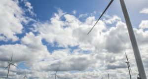Greencoat Renewables recently acquired Dromadda More wind farm in Co Kerry for €88.4 million