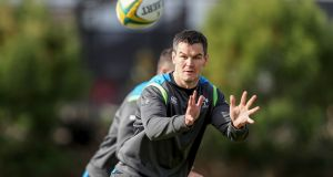 Johnny Sexton is expected to return to the Irish XV this weekend. Photograph: Dan Sheridan/Inpho