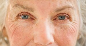 Those who wrinkle their eyes  appear more sincere, researchers at Western University in Canada have suggested. Photograph: Getty