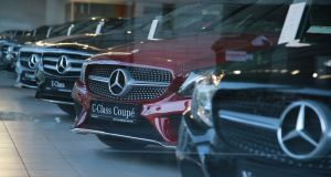 For the most part, the Mercedes-Benz models affected will include the C-Class range, the GLC crossover, and the Vito and V-Class vans, although other models will also be caught up. Photograph: Nick Bradshaw