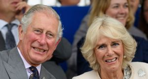 Prince Charles  and Camilla who will visit Cork and Kerry this week. Photograph: Getty