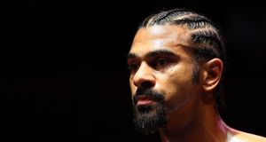 David Haye has announced his retirement from boxing aged 37. Photograph: Ian Walton/Getty