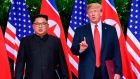 Trump's warmth towards Kim, though consistent with his apparent affinity with autocrats everywhere, was nonetheless shocking. Photograph: Susan Walsh/AFP/Getty Images