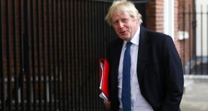 "Britain's foreign secretary Boris Johnson: ""acts like Trump with a thesaurus"". Photograph: Reuters/Simon Dawson"