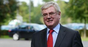 Former tánaiste Eamon Gilmore said Northern Ireland was facing its most critical moment since the 1998 Belfast agreement. Photograph: Cyril Byrne/The Irish Times.