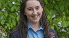 Sarah Monagle, a Leaving Cert student at Carndonagh Community School in Co Donegal. Photograph: North West Newspix