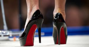 French shoe designer Christian Louboutin: case centred on the technicalities of European trademark law. Photograph: Cliff Owen/AP