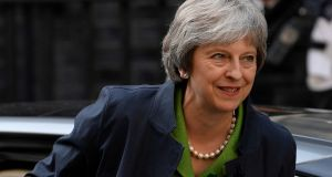 Conservative rebels have warned Theresa May that her government could face defeat on the EU Withdrawal Bill next week unless a new amendment reflects their concerns. Photograph: Toby Melville/Reuters.
