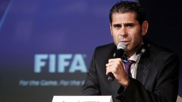 Fernando Hierro will coach the Spanish team football team during Russia 2018.