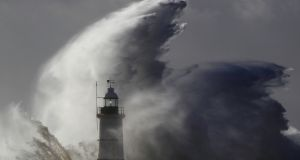 Storm Hector is  scheduled to make landfall on Wednesday night off the west coast.  File photograph: Luke MacGregor/Reuters