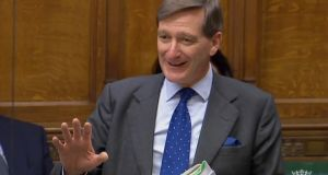 Former attorney general Dominic Grieve:  there are three parts in the amendment he tabled. Photograph: AFP Photo/PRU