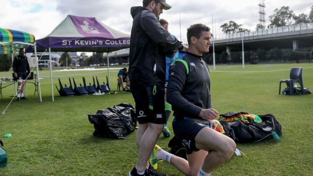 Johnny Sexton returns to the Ireland team for the second Test against Australia. Photo: Dan Sheridan/Inpho