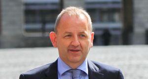 Sgt Maurice McCabe at  Dublin Castle for the Charleton Tribunal.  Photograph: Gareth Chaney/Collins.