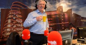Pat Kenny in his Newstalk studio. Photograph: Frank Miller