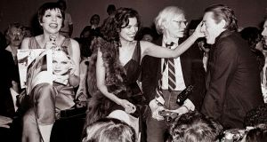 New this week: Liza Minnelli, Bianca Jagger and Andy Warhol on the scene to be seen, as depicted in Studio 54