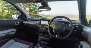 Improved acoustic systems  quieten outside noise in the Citroen C4 Cactus