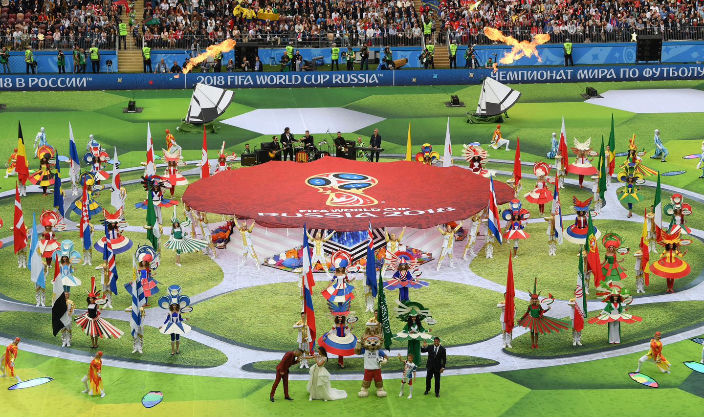 2018 FIFA World Cup Opening Ceremony 74