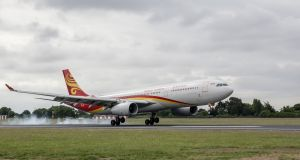 Hainan Airlines will operate from Dublin Airport to Beijing four times per week