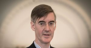 "Jacob Rees-Mogg: The European Parliament is not, he claims, ""a serious parliament"" or a proper democratic forum because it doesn't represent a single people. Photograph: Stefan Rousseau/PA"