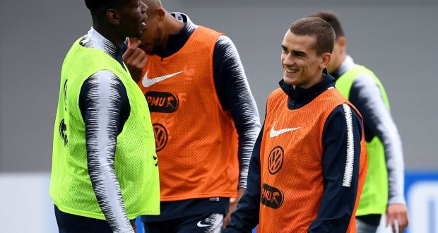 8b149e158 Antoine Griezmann has announced he is staying with Atletico Madrid.  Photograph  Franck Fife